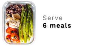 6 meals Serving Size Men Portion Control | Clean Eats Malaysia
