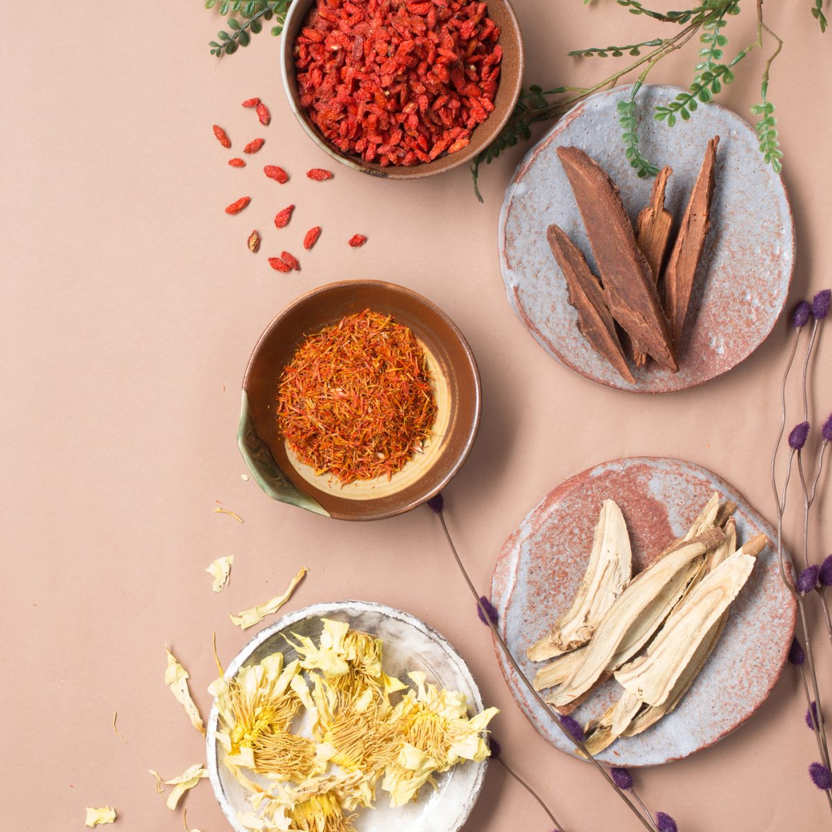 Chinese Herbs and Spices from Balik Pulau Penang | Clean Eats Malaysia
