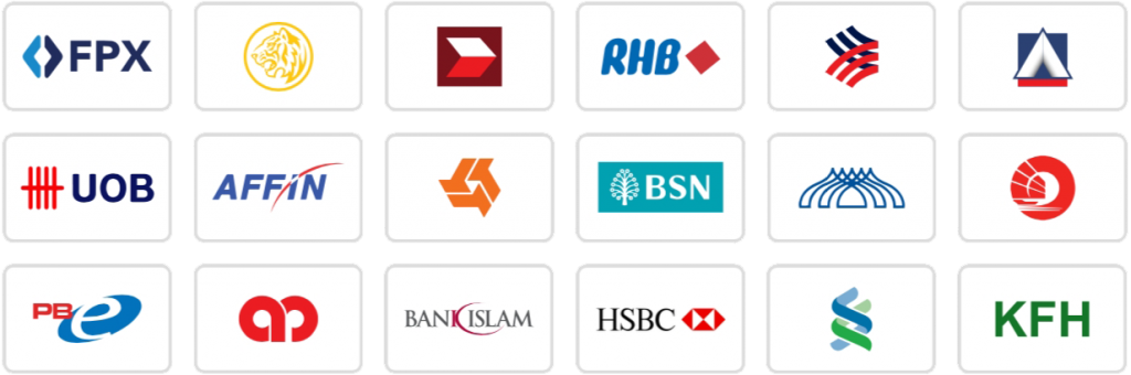 Billplz FPX Banking Logo accepted payment method