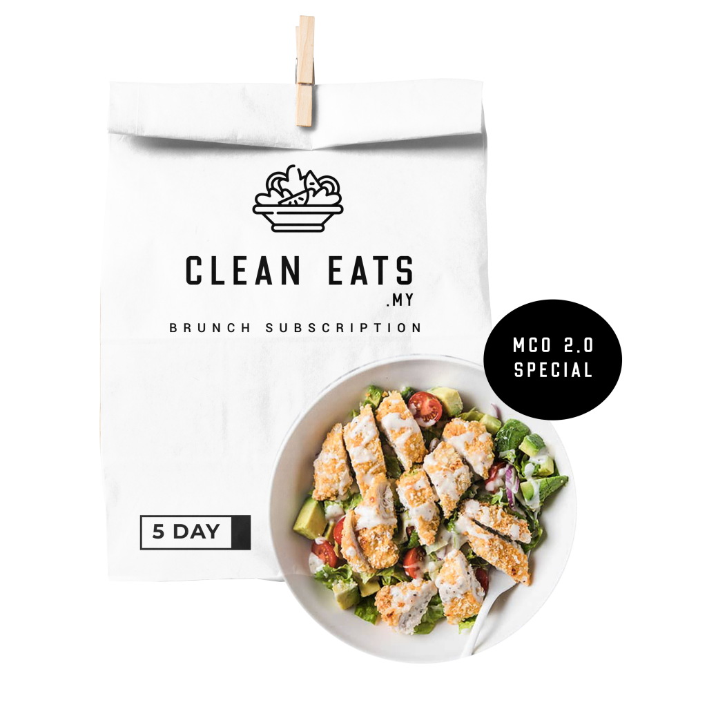 5 days Brunch Lunch Healthy Bowl Subscription Penang Clean Eating