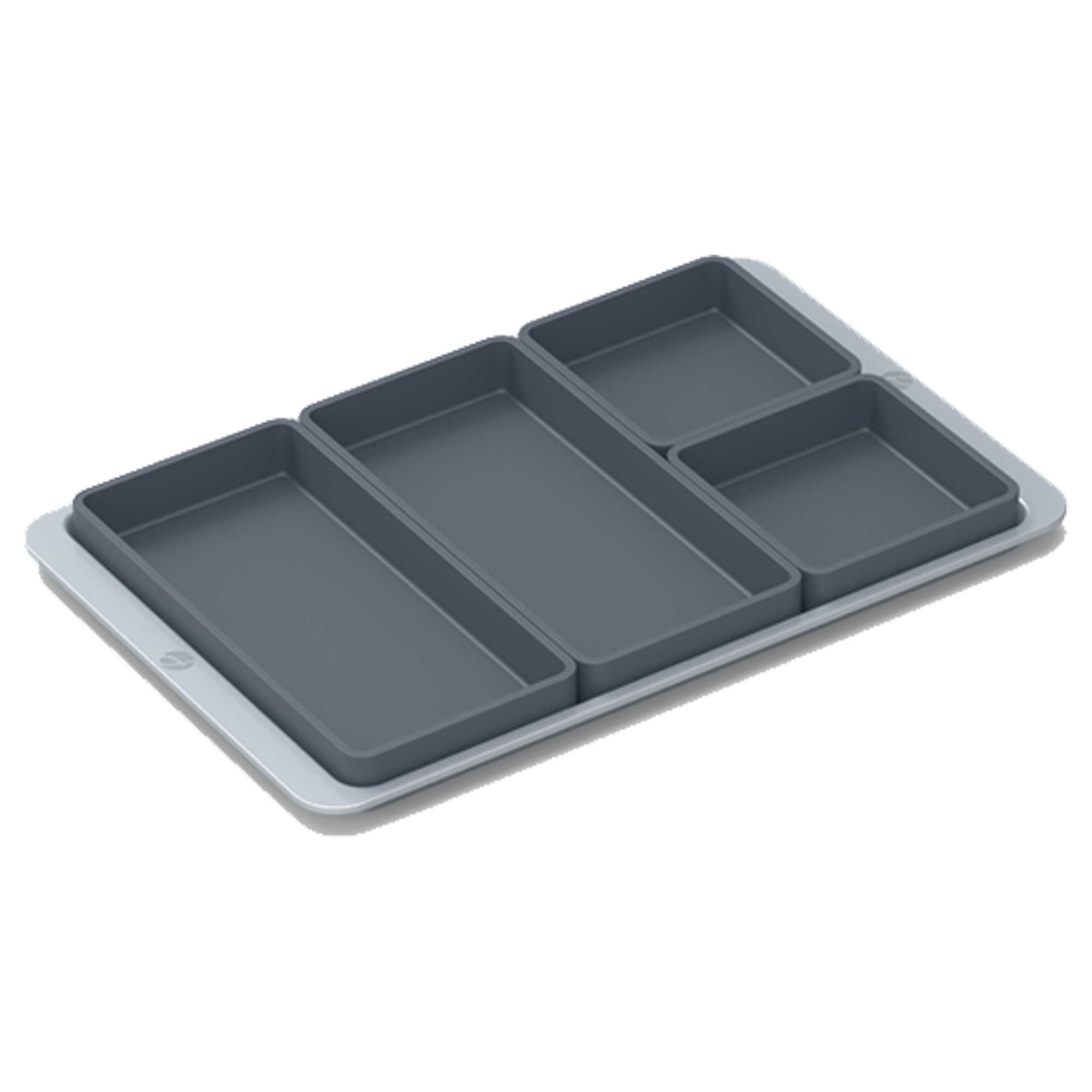 Meal Prep Silicone Oven Sheet Pan Set