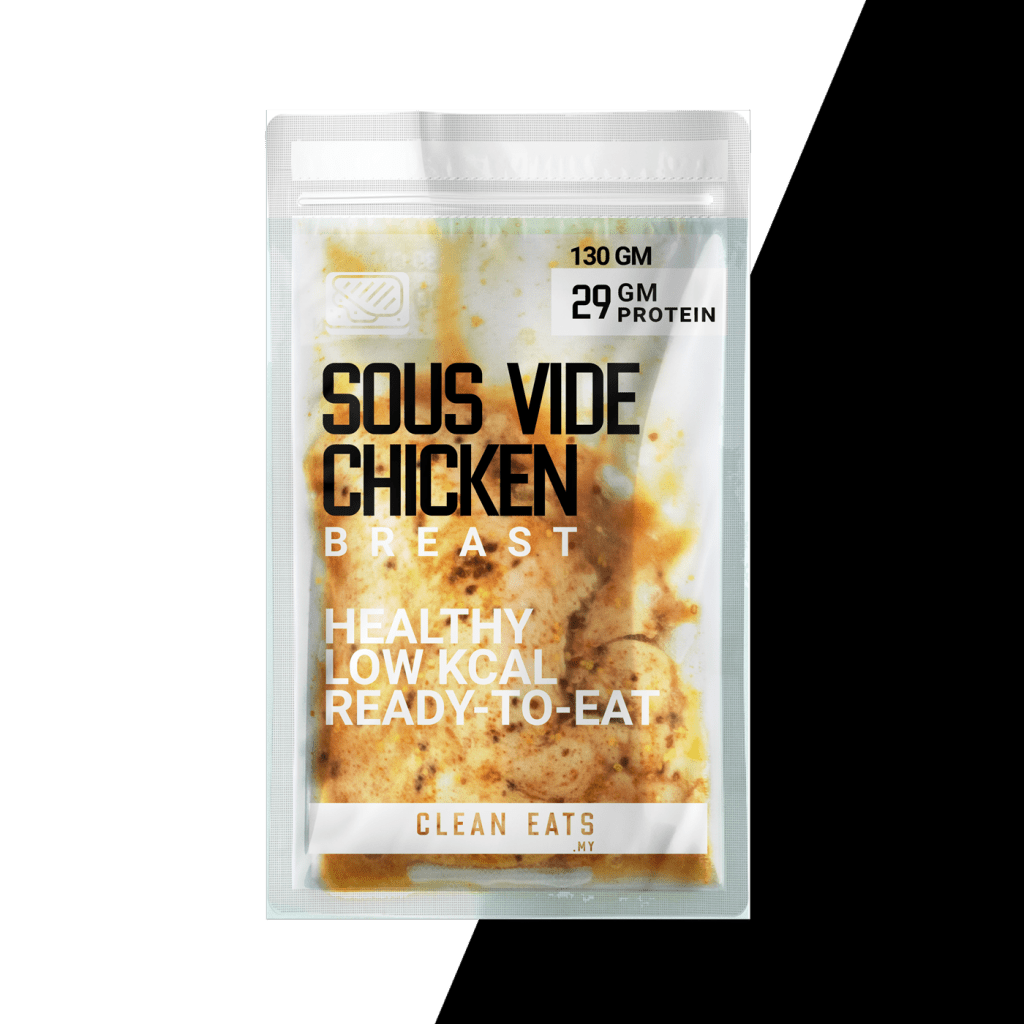 Honey Mustard Sous Vide Chicken Breast | Frozen Instant Ready to Eat | Clean Eats Malaysia Keto Diet