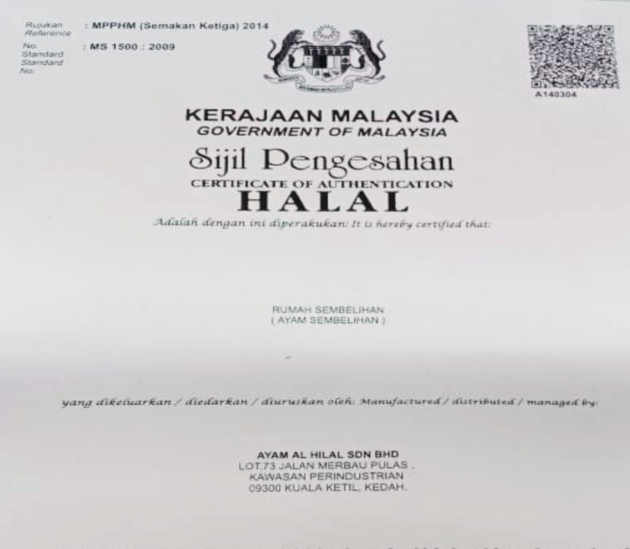 HALAL Certificate | Sous Vide Chicken Breast | Clean Eats Malaysia